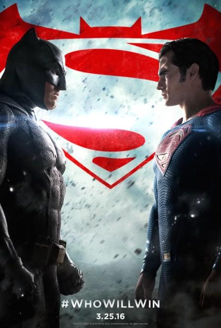 El cartel completo de Batman V Superman