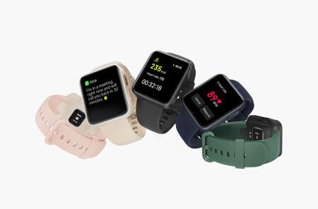 Xiaomi Mi Watch Lite: el smartwatch más pequeño presume de GPS y medición de oxígeno en la sangre, y ya está disponible en México