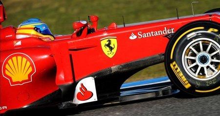 El Ferrari F2012 parece calentar rápido los neumáticos