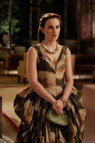 Quién lleva mejor el vestido de Zac Posen ¿Leighton Meester (Blair Waldorf) o Tiiu Kuik?