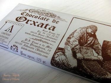Cata de chocolate de horchata