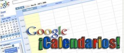 Google calendar: calendarios públicos