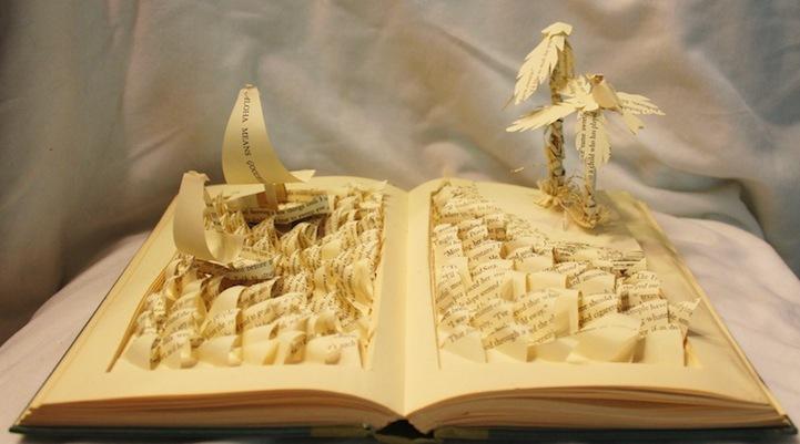 Foto de Esculturas en libros (5/5)