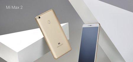 Mi Max 2, el teléfono más grande de Xiaomi se renueva con más capacidad de batería: 5.300mAh