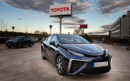 Primer Toyota Mirai de hidrógeno matriculado en España