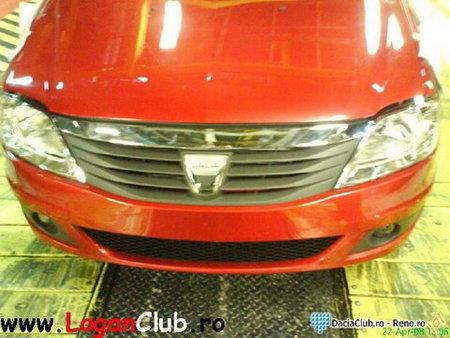 fotos espía del nuevo Dacia Logan