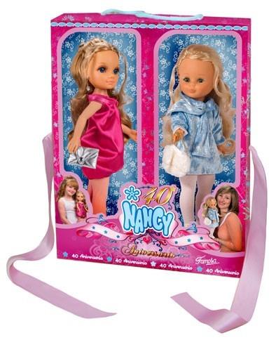 Nancy cumple 40 años y lo celebra con nuevas muñecas
