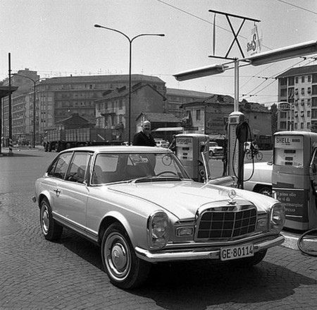 Mercedes 230 SLX Frua