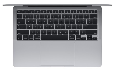 MacBook Air abierto