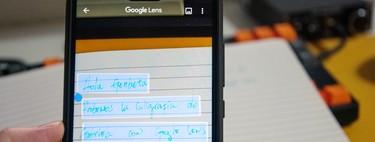 Cómo copiar texto escrito a mano con Google Lens y pasarlo al ordenador