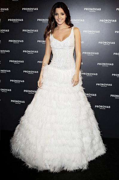 Malena Costa, madrina de la colección Pronovias Fiesta 2011
