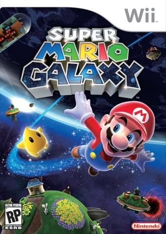 Mensaje subliminal en la portada de 'Super Mario Galaxy'