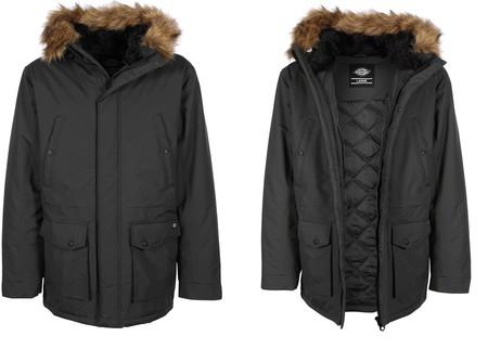 Winter is coming: parka para hombre Dickies Curtis en color negro por 51,99 euros en Amazon con envío gratis