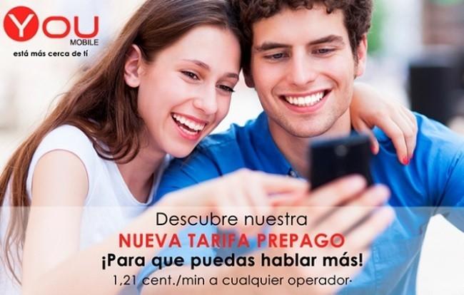 Nueva Tarifa Prepago You Mobile