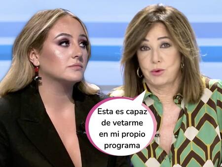 """Ana Rosa Quintana aclara si producirá la docu respuesta pública de Rocío Flores a su madre: """"Si decide hablar, mi programa se le queda pequeño"""""""