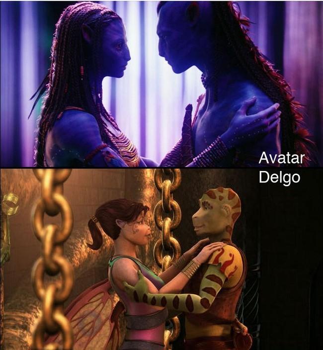 Foto de 'Avatar' Vs. 'Delgo' (6/7)