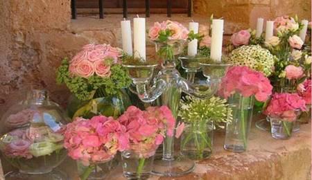 Díselo con flores. El arte de decorar la mesa