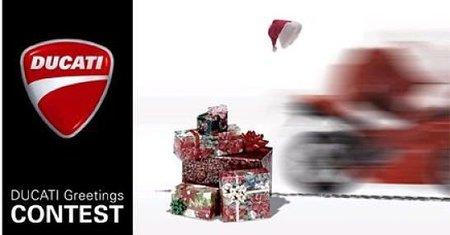 Diseña la postal de navidad de Ducati