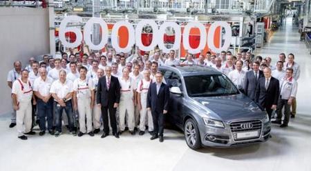 Fabrican Audi 6,000,000 con Quattro