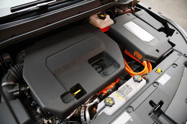 Vano motor del Chevrolet Volt