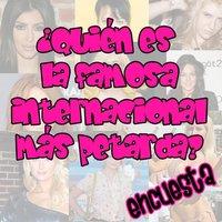 Encuesta: ¿Quién es la famosa internacional más petarda del momento?