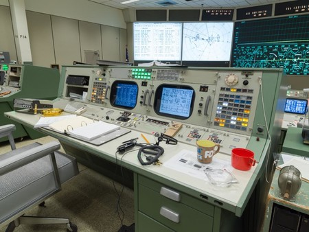 Nasa Centro De Control Apollo 2
