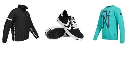 Chaquetas Puma, zapatillas Hummel o sudaderas Mizuno por menos de 18 euros en Deporte Outlet