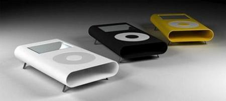 iTables, mesas con forma de iPod