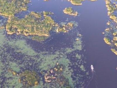 Volando sobre los Esteros del Iberá