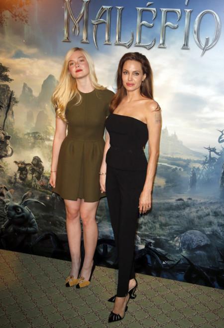 Elle Fanning Valentino Lauren Angelina Jolie