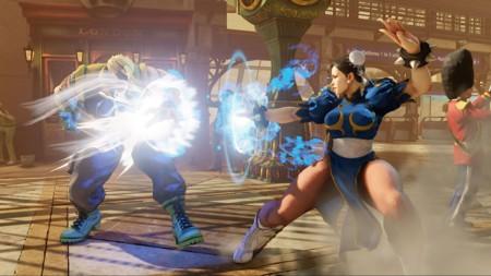 Street Fighter V Nash Chunli