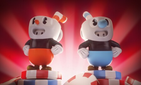 Los personajes de Fall Guys se vestirán esta semana con las skins de Cuphead
