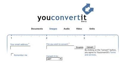 You Convert It, otro conversor de formatos de archivos así como de unidades
