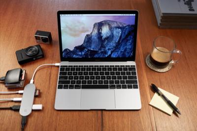 Hub+: si el futuro nos lleva a portátiles como el nuevo Macbook, queremos accesorios así