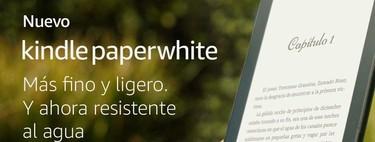 Lector de libros electrónicos Kindle Paperwhite más barato en Amazon: por 86,99 euros y envío gratis