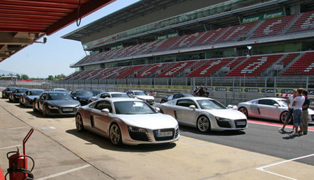 Audi R8 Sports Car Driving Experience