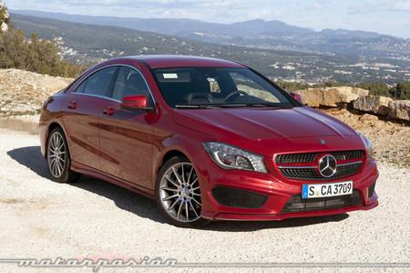 Mercedes-Benz Clase CLA, presentación y prueba en Saint -Tropez (parte 1)