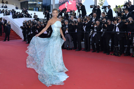 Nina Agdal Cannes 2015