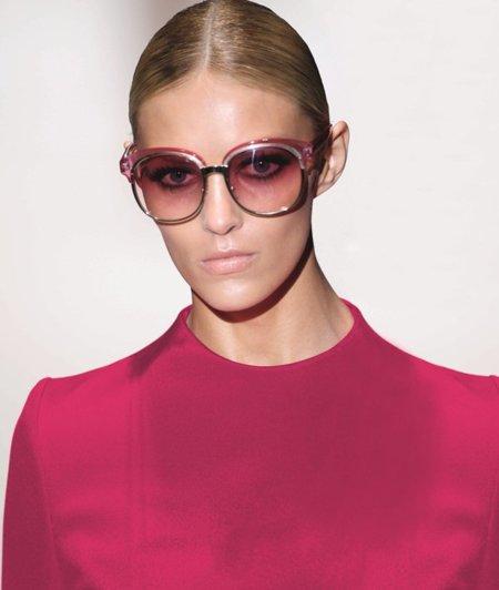 Gafas de sol de Gucci: la tendencia son grandes y de colores