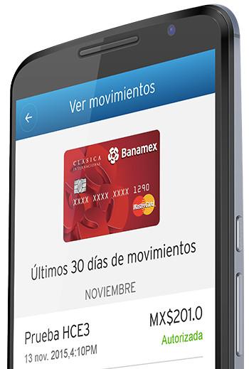 Aplicacion Banamex Wallet Celular Movimientos