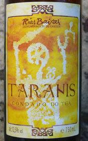 Taranis, el vino de las mujeres
