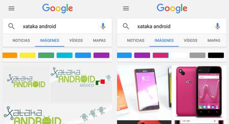 Cómo buscar imágenes según su color con la aplicación de Google