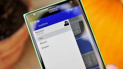 Microsoft cambiará la interfaz de OneDrive en Windows Phone para que luzca menos parecida a Android