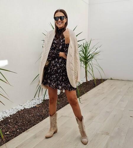 Los vestidos estampados son los favoritos de Paula Echevarría en su etapa de embarazada: tres modelos perfectos para todas las ocasiones