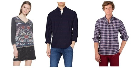 Chollos en tallas sueltas de camisas, polos y camisetas de marcas como El Ganso, Desigual o Jack & Jones en Amazon por menos de 30 euros