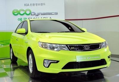 Kia Forte LPI Hybrid, el primer modelo de la gama Eco Dynamics