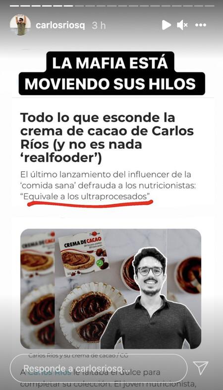 """""""La mafia está moviendo sus hilos"""", Carlos Ríos"""
