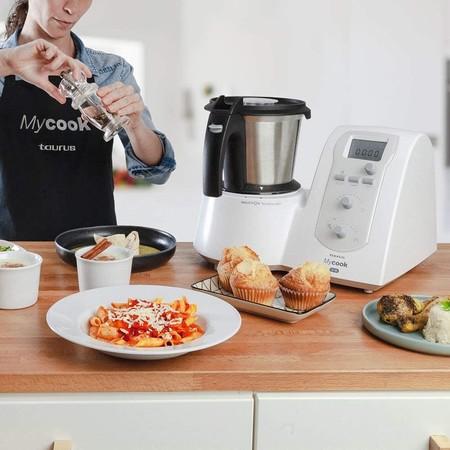 Taurus Mycook One: un robot de cocina de alta gama a precio low cost, ahora a mitad de precio en Amazon y El Corte Inglés