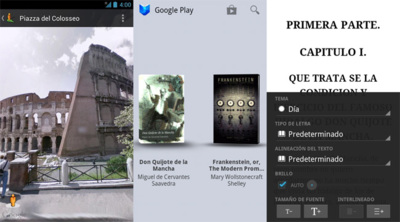Google Play Books y Google Street View se actualizan