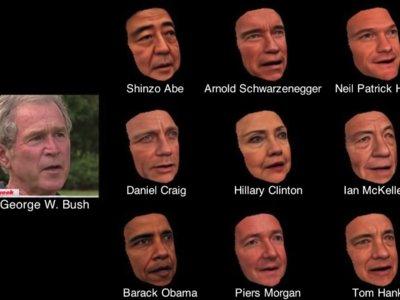 Tom Hanks hablando como George W. Bush: este software de reconstrucción 3D lo hace posible